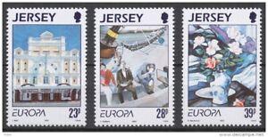 Jersey 1993 Mi. 612/14 ** postfrisch