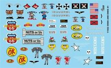 GOFER RACING 1:24 AND 1:25 SCALE ODDS & ENDS #1 DECAL SET FOR MODEL CARS