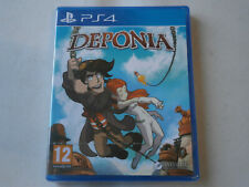 DEPONIA PS4 NEUF SOUS BLISTER