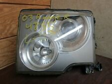 03 04 05 LAND ROVER RANGE ROVER DRIVER LEFT SIDE XENON HEADLIGHT LAMP w/ BALLAST