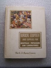 VINTAGE 1951 INGRAM SURGICAL EQUIPMENT SUPPLIES CATALOG HOSPITALS LABS M.D.
