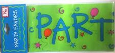 Party banner, 9ft long, 2 for £1.19 Birthday celebration congratulations plastic
