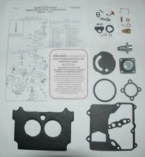"1974-80 CARB KIT MOTORCRAFT 2 BARREL MODEL 2100 AMC & JEEP 304"" 360"" ENG ETH TOL"