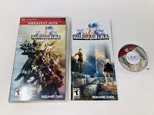 Final Fantasy Tactics: The War of the Lions (Sony PSP, 2007) CIB - Very Good!!