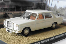 MERCEDES 220 THE MAN WITH GOLDEN GUN JAMES BOND 007 1/43 UNIVERSAL HOBBIES WEISS