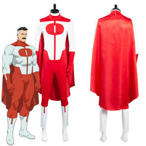 Invincible Omni-Man Outfits Halloween Carnival Suit Cosplay Costume