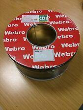 WF100 Coaxial Digital Satellite Cable Black 100m Brand New Drum CAI / Sky