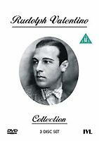 Rudolph Valentino Collection NEW SEALED 3 DISC DVD BOXSET