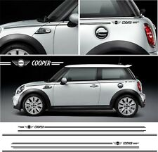 BMW Mini Cooper PIN strisce adesivi F56 F55 R56 R50 R52 R53 Hatch Decalcomanie