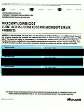Microsoft Windows Terminal Server 2003 75 CALs