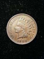 1906 Indian Head Small Cent 1C