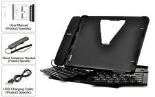 Multi-Functional Foldable Stand With Sliding Bluetooth Keyboard for iPad 2/3/4