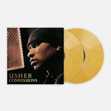 Usher Confessions VMP Vinyl Me Please ROTM Gold Nugget Color Vinyl 2LP Record
