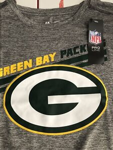 NWT Green Bay Packers Tshirt Cool Quick Dry XL Majestic
