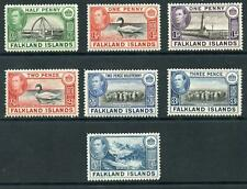 Falkland Is 1937 Selection of values to 1/- m/m