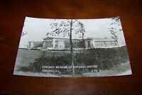 Rare Vintage RPPC Real Photo Postcard Chicago Museum Of Natural History Illinois