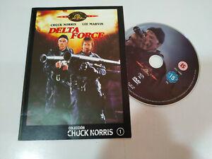 Delta Force Chuck Norris Lee Marvin DVD Su de Cartone Spagnolo Inglese Regione 2