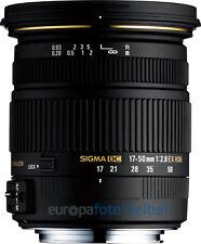 SIGMA AF 17-50 mm f/2, 8 EX DC HSM per Sony A-Mount a77 a77ii a68 a65 ecc.