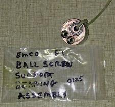 Emco F1 CNC Mill Ballscrew Ball Screw Support Bearing Assembly 0125