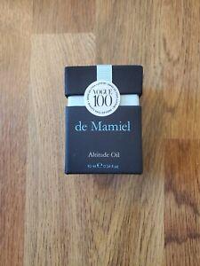 De Mamiel botanical Altitude Oil .34 fl oz full size new in sealed box, fresh