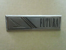 Vintage Futura Ford Falcon Emblem Sign Badge Nameplate Script Metal Ornament