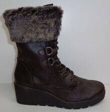 b9ff3b6936c2 A2 by Aerosoles Womens Color Range Winter Boot Dark Brown Combo 8 M US