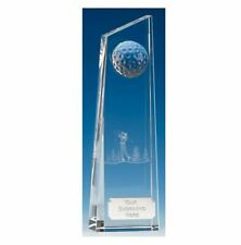 KK018 Crystal Golf Trophy