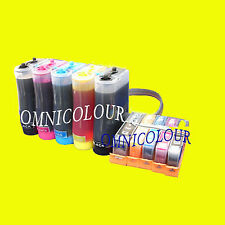5c CISS with chips + ink for HP 364 ink cartridge compatible C309 310 410 D7560