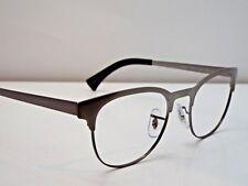 8b91b186e9 Authentic Ray-Ban RB 6317 2834 Matte Gunmetal Eyeglasses Frame  223