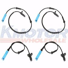 Front Rear Left Right Set of 4 ABS Wheel Speed Sensor for BMW M5 E39 525 528 540
