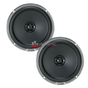 """Hertz MPX 165.3 Mille Pro Series 6-1/2"""" 2-Way Car Audio Coaxial Speakers NEW"""