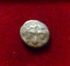 MYSIA, PARION AR Drachm ca 480 BC. Gorgoneion facing / Incuse square