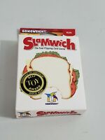 NEW GameWright SLAMWICH Fast Flipping Card Game 2-6 Players ~Best Toy Award Seal