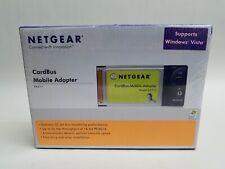 New Netgear FA511 CardBus Notebook Adapter