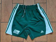 Football shorts soccer FC St Gallen Away 2000/2001 Adidas Green Switzerland Sz S