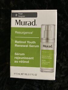 Murad Retinol Youth Renewal Serum 5ml Travel Size Brand New