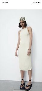 Zara Womens Cable Knit Dress Size Small Brand New
