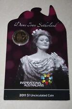 (PL) 2011 Australia Inspirational Dame Joan Sutherland $1 UNC Coin ROYAL MINT