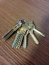 Schlage SC4 6 pin C keyway Depth Keys Code Keys