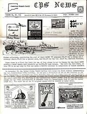 CHS News Connecticut Philatelic Society July August 1987 Newsletter