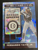 FERNANDO TATIS 2020 CONTENDERS # 11 OPTIC BLUE CRACKED ICE SAN DIEGO PADRES /99