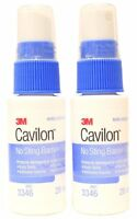 3M Cavilon No Sting Barrier Film Spray Skin Protectant 1oz  (Pack of 2)