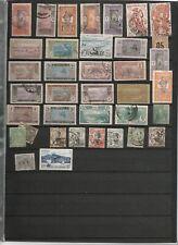 francobolli colonie francesi - avanzo collezione - materiale vario