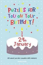 Puzzles for You on Your Birthday - 29th January by Clarity Media (2014,...