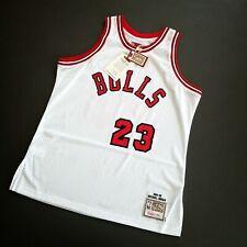 100% Authentic Michael Jordan Mitchell Ness Rookie 84 85 Bulls Jersey Size 48 XL