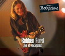 Robben Ford-Live at Rockpalast  (UK IMPORT)  CD with DVD NEW