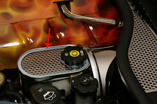 C6 Corvette 2005-2008 Perforated Stainless Master Cylinder Cover