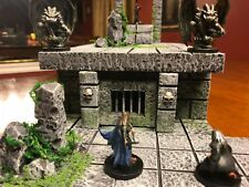Graveyard Crypt 28mm Terrain Tabletop Wargame Dungeons & Dragons Pathfinder d&d