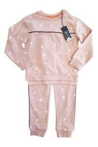 GIRLS PRETTY MOTHERCARE TRACKSUIT SET OUTFIT AGE 7 - 8 Y YRS YEARS NEW