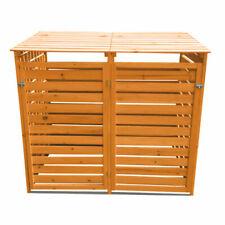 KCT 2 Wheelie Wooden Bin Storage